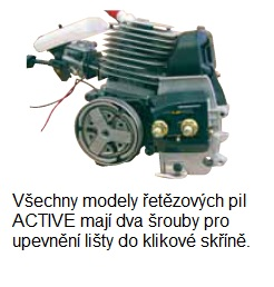 ACTIVE 40.40 SPEED EVOLUTION - motorová pila