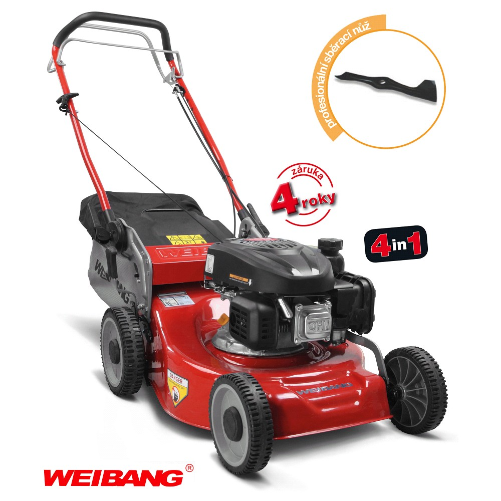 WEIBANG WB 455 SC 4in1 s pojezdem
